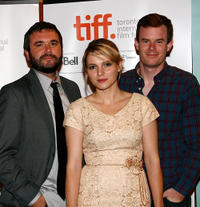AJ Bowan, Amy Seimetz and Joe Swanberg at the Canada premiere of