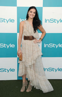 Jaimie Alexander at the 10th Annual InStyle Summer Soiree in California.