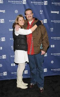 Marianna Palka and Eric Edelstein at the premiere of