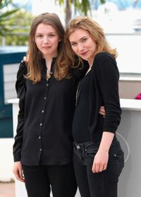 Hannah Murray and Imogen Poots at the screening of