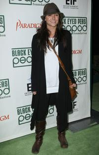 Briana Evigan at the Black Eyed Peas' 4th Annual Peapod Foundation Benefit Concert.