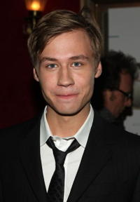 David Kross at the premiere of