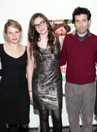 Amy Siemetz, Grace Dunham and Alex Karpovsky at the New York premiere of