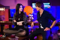 Michelle Trachtenberg as Maggie and Zac Efron as Mike O'Donnell in