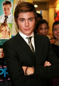 Zac Efron at the Sydney premiere of