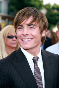 Zac Efron at the L.A. premiere of