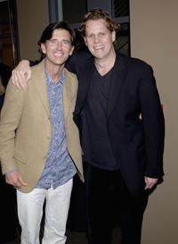 Matt McCoy and Director Al Corley at the premiere screening of