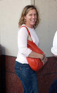 Frances McDormand at the opening night reception for