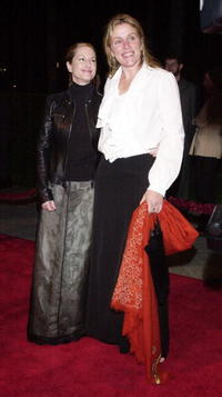 Holly Hunter and Frances McDormand at the Los Angeles premiere of the motion picture to benefit