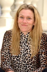 Frances McDormand at the Hotel Ritz for the Spanish premier of