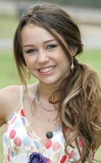 Miley Cyrus at A Time for Heroes a Celebrity Carnival.