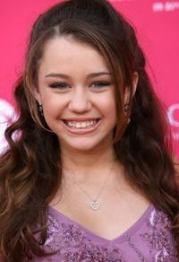 Miley Cyrus at the 41st Annual Academy of Country Music Awards.