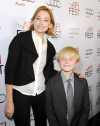 Haley Bennett and Nathan Gamble at the AFI FEST 2009.