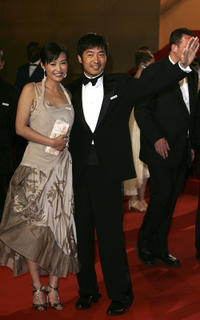 Guo Xiaodong and Hao Lei at the premiere of