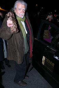 Michael Lonsdale at the 36th Cesar Film Awards in France.