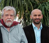 Michael Lonsdale and Farid Larbi at the photocall of