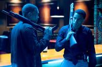 Chris Brown and Michael Ealy in
