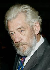Sir Ian McKellen at the opening night of the 2007 Melbourne International Film Festival with the screening of