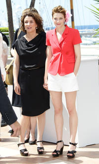 Noemie and Celine Sallette at the photocall of