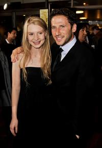 Mia Wasikowska and Mark Feuerstein at the 2008 AFI FEST Closing Night Gala screening of