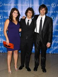 Casey Wilson, Andy Samberg and Bill Hader at the 2008 Museum Gala.