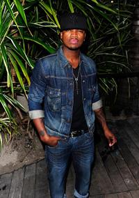 Ne-Yo at the day 5 of Mercedes-Benz Fashion Week Swim 2012.
