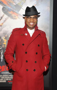 Ne-Yo at the New York premiere of