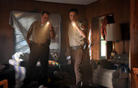 Alex Kendrick as Adam Mitchell and Kevin Downes as Shane in