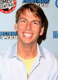 Jack McBrayer at the Comedy Central's Indecision 2008 Election Night viewing party.