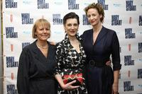 Phyllida Lloyd, Harriet Walter and Janet McTeer at the after party of the opening night of