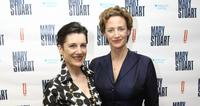 Harriet Walter and Janet McTeer at the after party of the opening night of