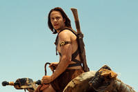 Taylor Kitsch as John Carter in ``John Carter.''