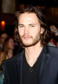 Taylor Kitsch at the premiere of