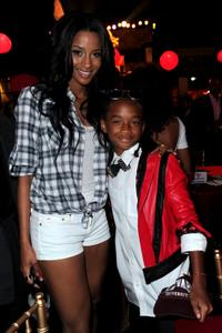 Singer Ciara and Jaden Smith at the after party of the premiere of