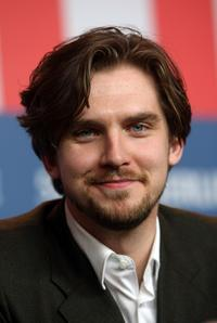 Dan Stevens at the press conference of