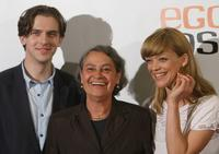 Dan Stevens, Monica Bleibtreu and Heike Makatsch at the photocall of