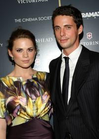 Hayley Atwell and Matthew Goode at the screening of