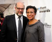 Fred Melamed and Guest at the IFP's 19th Annual Gotham Independent Film Awards.
