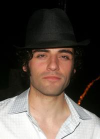 Oscar Isaac at the after party of