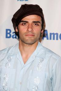 Oscar Isaac at the after party of the opening night of