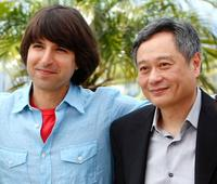 Demetri Martin and Ang Lee at the photocall of