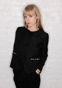 Antonia Campbell-Hughes at the portrait session of Tribeca Film Festival 2011.