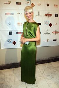 Whitney Able at the Opening night of the First Annual Downtown Film Festival screening of