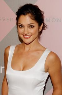 Minka Kelly at the Diamond Information Center and InStyle Luncheon.