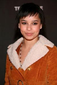 Zoe Kravitz at the after party of