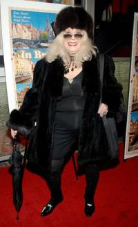 Sylvia Miles at the premiere of