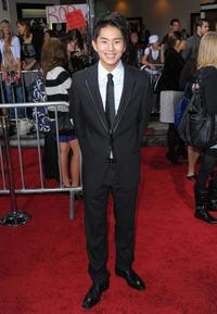 Justin Chon at the Los Angeles premiere of