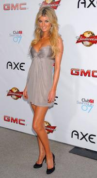 Marisa Miller at the 2007 Sports Illustrated Swimsuit Issue Press Event.