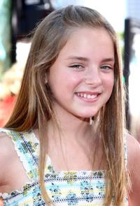 Madison Davenport at the premiere of