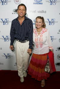 Maxwell Caulfield and Juliet Mills at the Los Angeles premiere of
